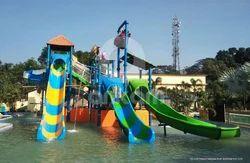6 Platform Water Slides