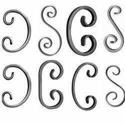 Wrought Sheet Metal Scrolls