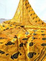 Ligalz Present Mul Mul Sattin Saree With Blouse