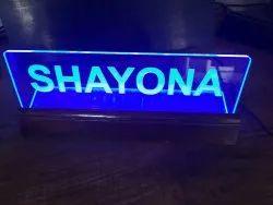 Acrylic LED Name Plate