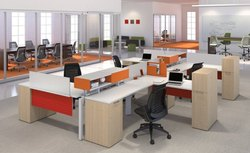 AV Furniture Multicolor Modular Office Furniture