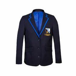 Black And Blue Boys School Blazer
