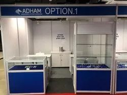 Octonorm Stall on Rent / Hire Service, Pan India