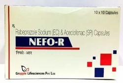 Aceclofenac 200 mg Rabeprazole 20 mg Capsules