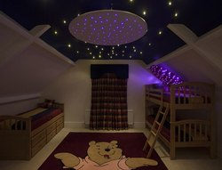 Kids Room Star Effect Lighting
