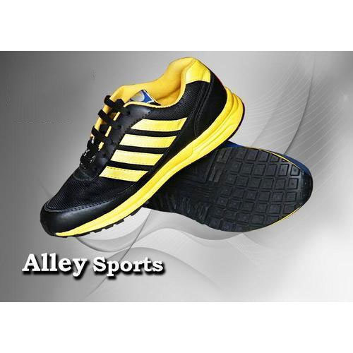 Alley Mens Synthetic Sports Shoes, Size