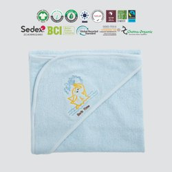 Patch Worked Hooded Towels