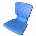 Blue Mitsu Chem Plastic Chair Seats, Size: Standard