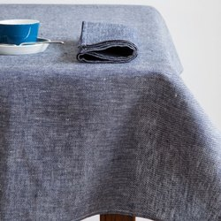 Chambray Bio Wash Table Cloth