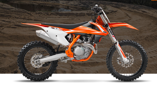 Orange KTM 450 SX-F 2018 Bike, Shivamogga Ktm Showroom   ID