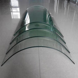 Transparent Bending Toughened Glass