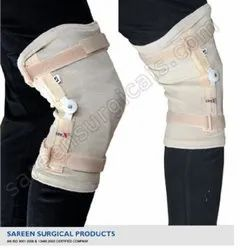 Elastic Tubular Knee Support With Hinges