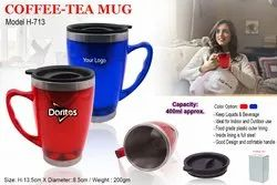 HORA Red & Blue Coffee-Tea Mug H-713, Capacity: 400ml