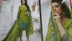 Devi cotton printed suit