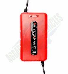 Electric Bike Lead Acid Battery Charger, Output Voltage: 48V