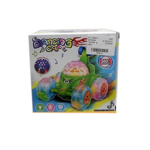 Plastic Dacing Car Toy, Packaging Type: Box, 4