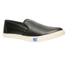 North Star Black Casual Shoes For Men