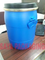 50 Litre HDPE Open Top Drums, Capacity: 0-50 litres