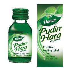 Dabour Medicine Grade Pudin Hara Liquid, Packaging Type: Bottle