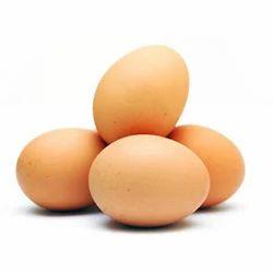新鲜棕色鸡蛋,包装:托盘