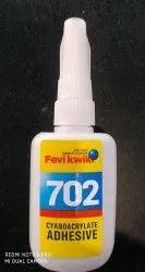 Pidilite Fevikwik 702 Instant Adhesive, Packaging Size: 20 Gm, Grade Standard: Industrial Grade