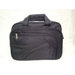 Plain Black Executive Bag