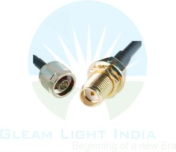 RF Cable Assemblies N Male to SMA Female in LMR 400