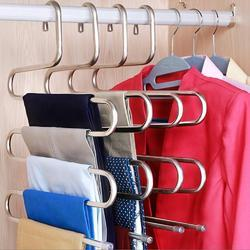 Multi Layers Multi Purpose Stainless Steel Hanger for Efficient Storage