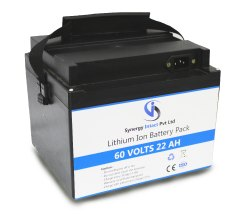 60 Volts 22 aH Lithium Ion Battery for Electric Scooter / Bike