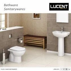 Anglo Indian And EWC for Bathroom Fitting, Size/Dimension: 565X450X390 mm