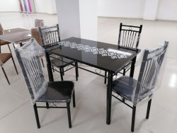 Gujjubazar Metal Dining Table 4 Seater for Home
