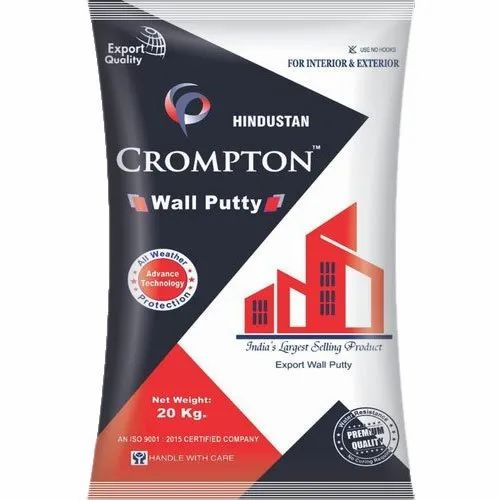 Crompton Gray Cement Wall Putty Packaging Size 20 Kg Id 21870200588