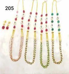Pink Beads Mala Set for Wedding