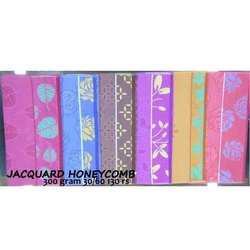 Jacqard Honeycomb Towel