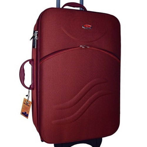 cf14a0ffa7a Maroon Dilegent 28 Inch Luggage Trolley Bag