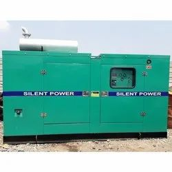 Three Phase 100 kVA Silent Diesel Generator, For Industrial