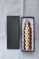 Diwali Gifts Copper Water Bottle In A Beautiful Box