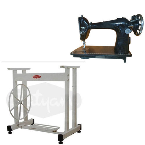 Cast Iron Foot Operated Sewing Machine Stand, Model: TA-1