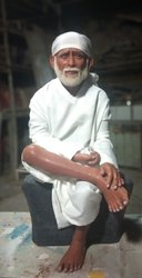Sai Baba Wax Statue | R  K sculpture Studio | Manufacturer