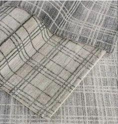 Printed Rectangular 100% Viscose Handloom Carpet, For Floor