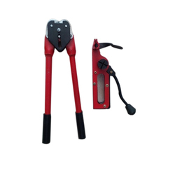 Red and Black Manual Strapping Tool, Packaging Type: Box