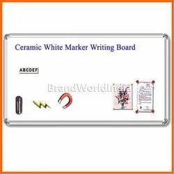 Ceramic White Marker Writing Board