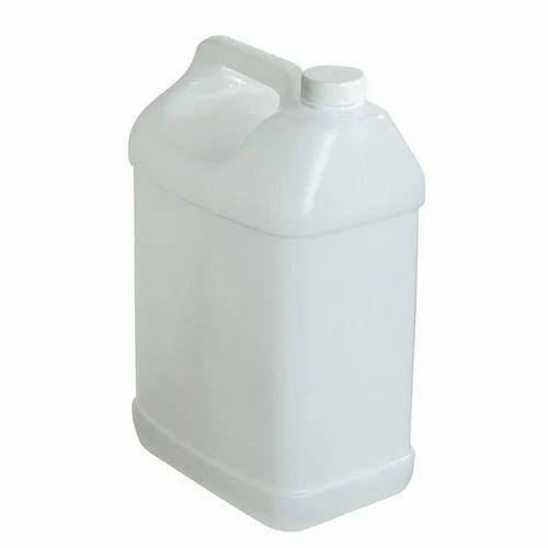HDPE White 5 Litre Plastic Jerry Can, Capacity: 5 Litre, Rs 282 /dozen |  ID: 17302953373