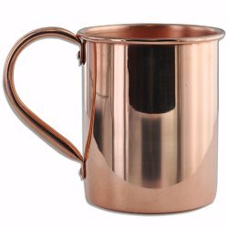 Riveted Handle Copper Mug