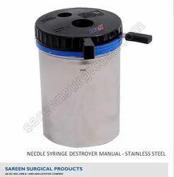 Syringe Needle Cutter Manual