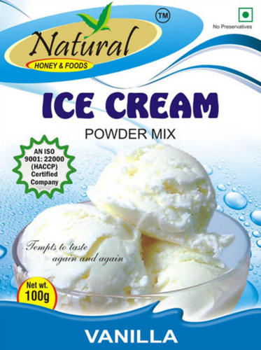 Natural Ice Cream Mix Vanilla