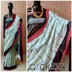 Party Wear Pramukh Banarasi Designer Saree with Blouse Piece