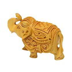 Wooden Decorative Elephant Midium