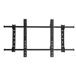 Cast Aluminium Black LGF-98 Fixed Wall Bracket, LED TV, LCD Size: 43 Inch