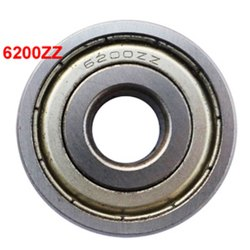 Ball Bearing 6200zz, Weight: 0.13, Size: 10x30x9mm